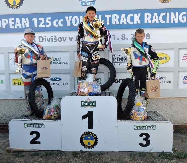 Evropský pohár stopětadvacítek ovládli čeští jezdci