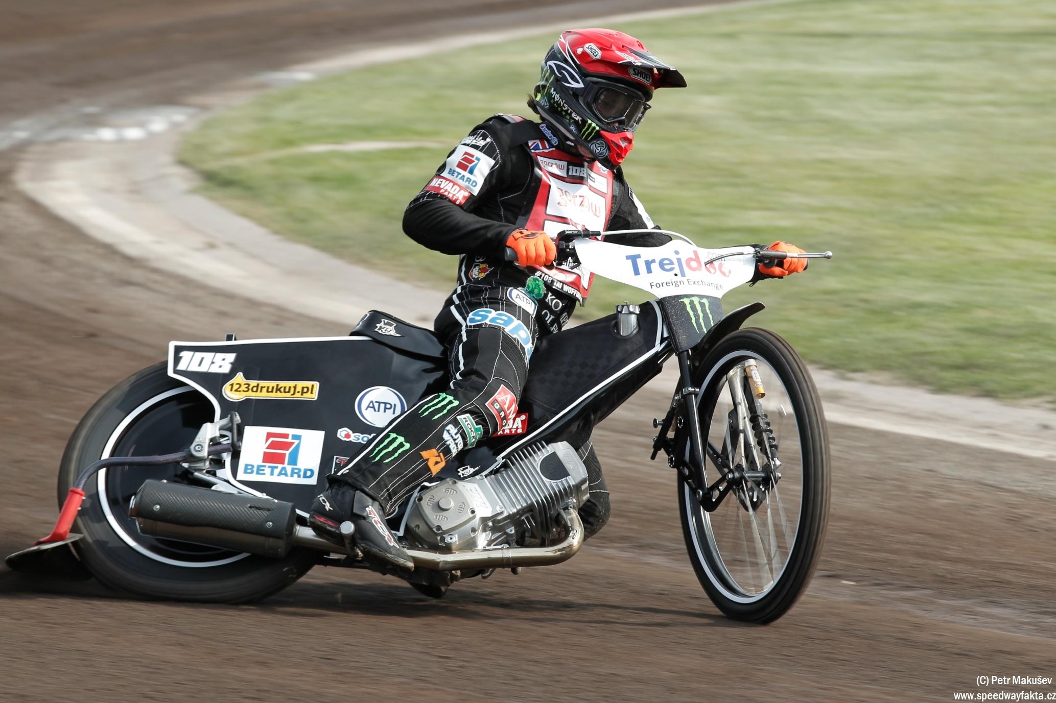 Vítězem pražské Grand Prix Tai Woffinden